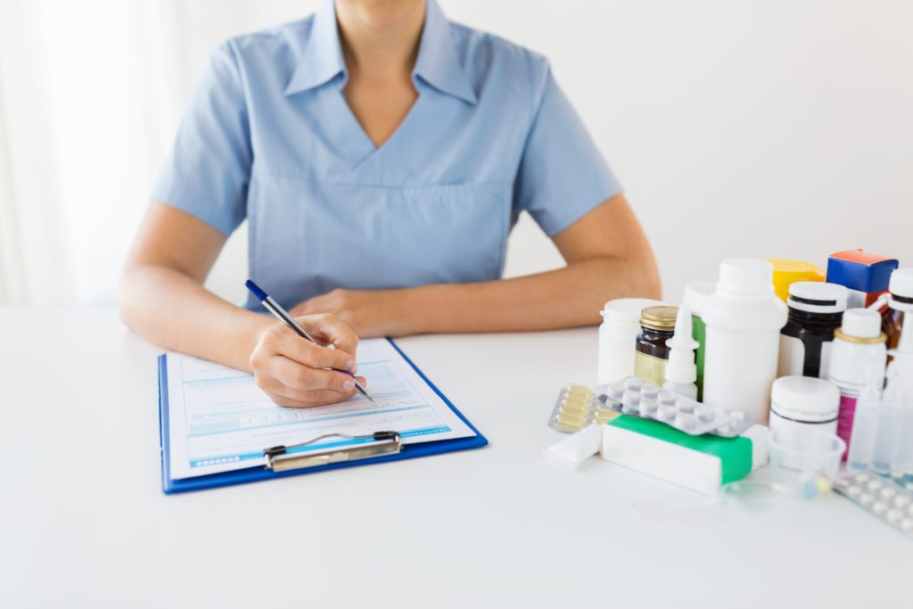 physicians dispensing medications
