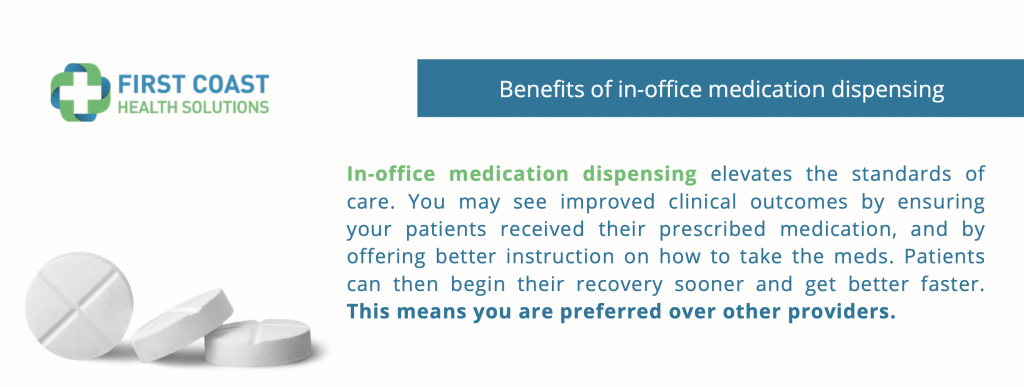 In Office medication dispensing company